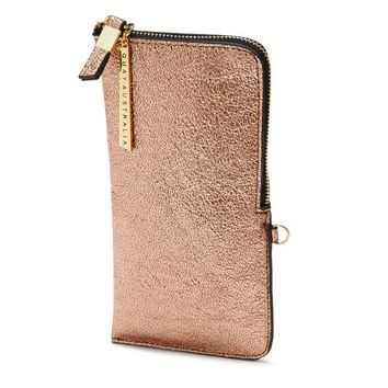 METALLIC ZIP CASE