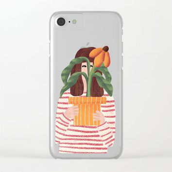 The Gift Clear iPhone Case by chotnelle