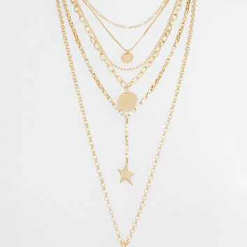 Rebecca Minkoff Medallion Layered Statement Necklace | Nordstrom