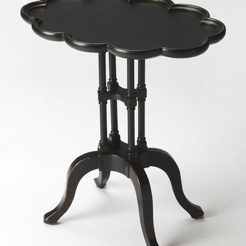 Masterpiece Lloyd Black Licorice Oval Accent Table