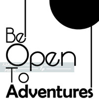 Be Open To Adventures Quote Print, Travel Art Print, Black And White Artwork, Home Decor, Adventure Decor, Poster Wall Art, Travel Decor