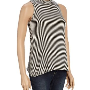 Olivia Pencil Striped Maternity Tank Top