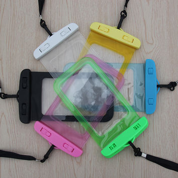 2017 waterproof phone case for iphone4 4S 5S 6Plus Samsung