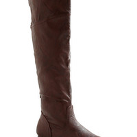 Get Stitched Quick Boot in Brown | Mod Retro Vintage Boots | ModCloth.com