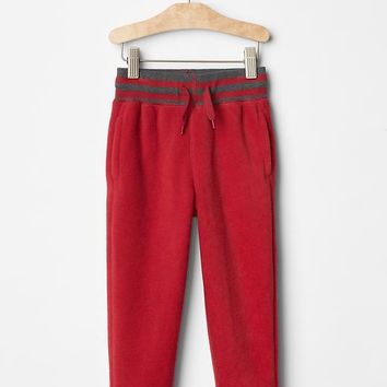 Gap Stripe Fleece Pants