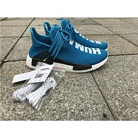 adidas NMD Human race royal blue Basketball Shoes 36-47