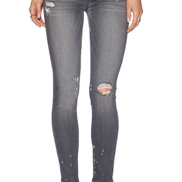 Paige Denim Verdugo Ankle in Gray