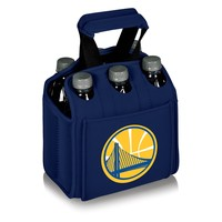 Golden State Warriors - 'Six Pack' Beverage Carrier by Picnic Time (Navy)