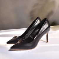 ouis Vuitton LV Women Fashion Pointed Toe High Heels Shoes