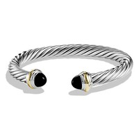 Women's David Yurman 'Cable Classics' Bracelet with Semiprecious Stones