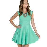 Sale-mint Summer In Love Skater Dress