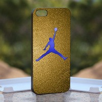 Nike Air Jordan Logo, Print on Hard Cover iPhone 4/4S Black Case