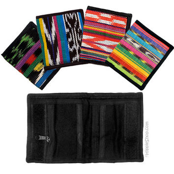 Guatemalan Bi-Fold Wallet on Sale for $7.99 at HippieShop.com