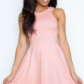 Ladylike Dress - Blush