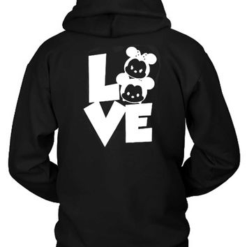Mickey Minnie Disney Hoodie Two Sided