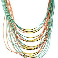 Online Exclusive! Magnetic Multi-Strand Necklace