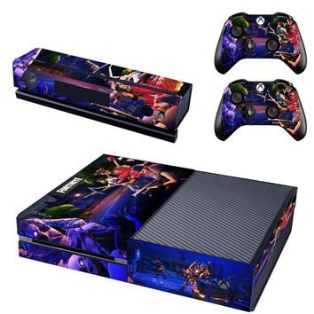 Skin sticker for Microsoft xbox one vinyl protective cover sticker for xbox one console controle skin for xbox one