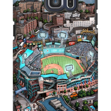 Michael Birawer Fenway Park Galaxy S6 Edge Plus Extra Protective Bumper Case