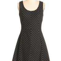 Mid-length Sleeveless A-line Gotta Look the Party Dress