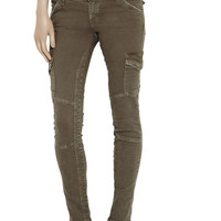 Current/Elliott The Skinny low-rise cargo pants – 80% at THE OUTNET.COM