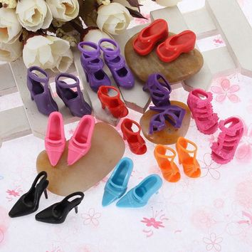 Doll Princess High Heel Sandals ,Shoes Toy