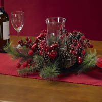 Holiday Candelabrum Centerpiece