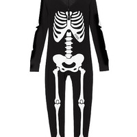 Skeleton Onesuit - PINK - Victoria's Secret