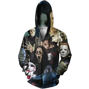 Horror Classics Zip-up Hoodie