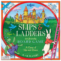 Slips and Ladders board game | Board and Dice Games | PUZZLES & GAMES | TheWoodenWagon