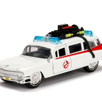 Jada Diecast Metal 1:32 Scale Hollywood Rides Ghostbusters Ecto-1- Preorder 6/29