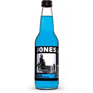 Jones Blue Bubble Gum Soda
