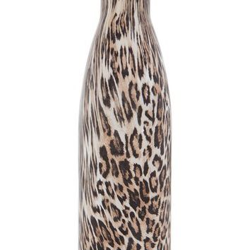 S'well 'Textile Collection - Khaki Cheetah' Stainless Steel Water Bottle | Nordstrom