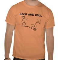 Rock and Roll T-shirt from Zazzle.com