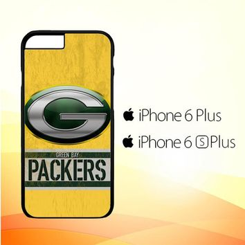 Green Bay Packers Logo L1556 iPhone 6 Plus|6S Plus Case