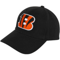 47 Brand Cincinnati Bengals Youth Basic Team Logo Adjustable Hat - Black