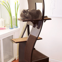 "The Refined Feline 69"" The Lotus Cat Tree & Reviews 