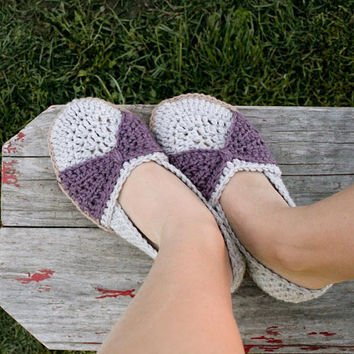 Instant Download  Crochet Pattern  The Jess Flats by Mamachee