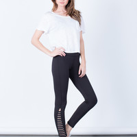 Caged Sides Leggings