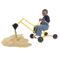 Sand Digger Scoop 'n Swivel Backhoe Sand Toy