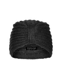 Knitted Turban - Black