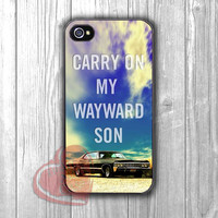 SUPERNATURAL CARRY ON- n11 for iPhone 4/4S/5/5S/5C/6/ 6+,samsung S3/S4/S5,samsung note 3/4