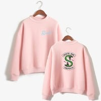 Riverdale Women and men Hoodies Sweatshirts Fashion Hooded Mulheres Long Sleeve Korean Sweatshirt Casual Cotton