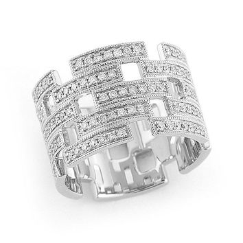 Katie Z Eternity Band with Diamonds