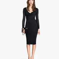 H&M Long-sleeved Jersey Dress $24.95