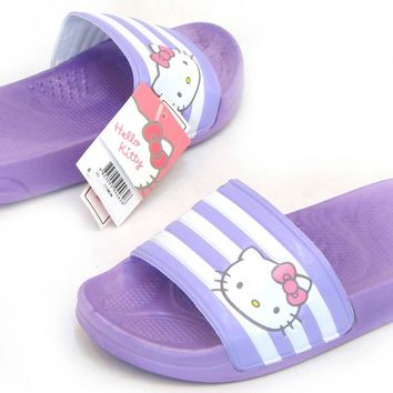 Hello Kitty Brand New Women Lovely Slippers Shoes Summer Beach Spa Korea Fashion