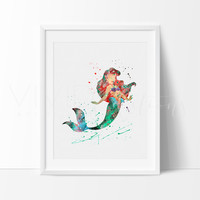 Ariel, Little Mermaid 3