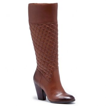 Sole Society Bryan Quilted Leather Boot