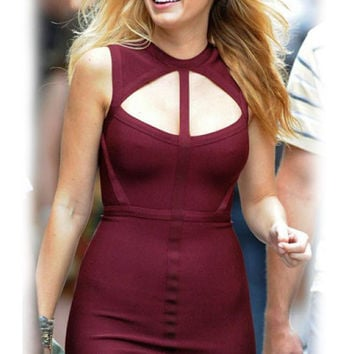 Blake Lively Gossip Girl Cutout Bandage Dress