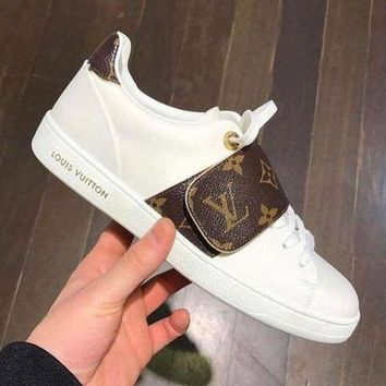 LV Retro white shoes H 8-22