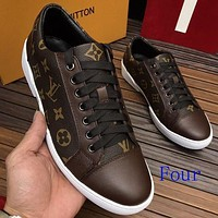 LV LOUIS VUITTON 2018 Men's Casual Fashion Casual Shoes